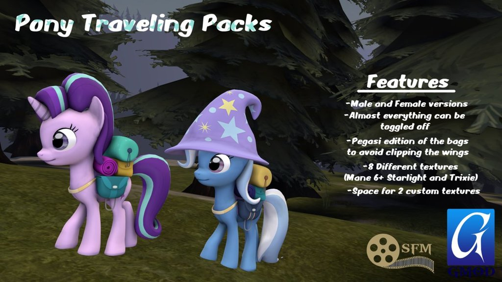 Pony Traveling Packs