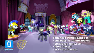 Enhanced Ponies 3rd pack