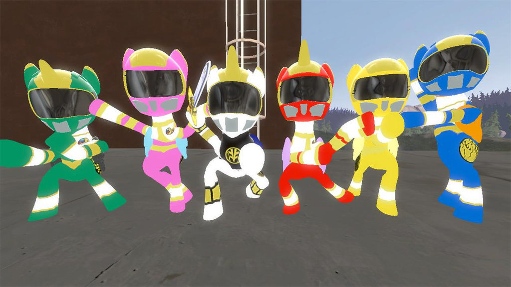 Mighty Morphin Power Ponies: Power of Thunder v1.0