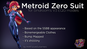Metroid Zero Suit for V3 EQG