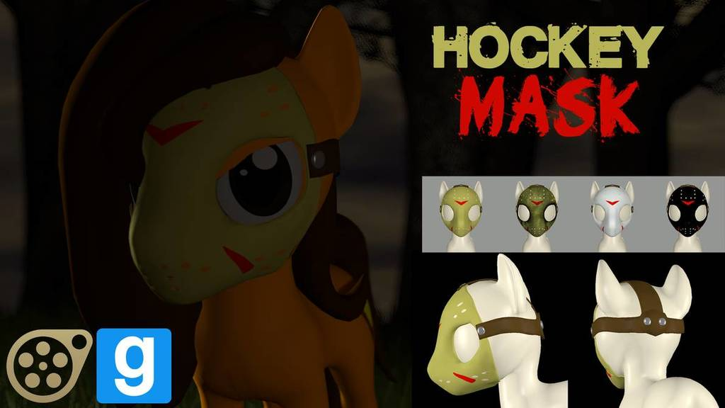 Pony Hockey Mask