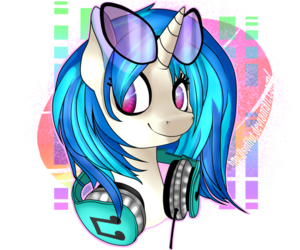Vinyl scratch  by sofilut d8m43ac